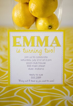 YELLOW Printable Party Set CHEERFUL Invite, Food Labels, Cupcake Toppers and more