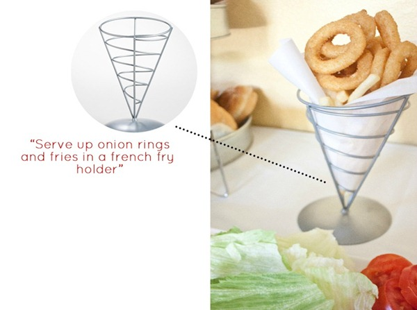 World Market French Fry Holder