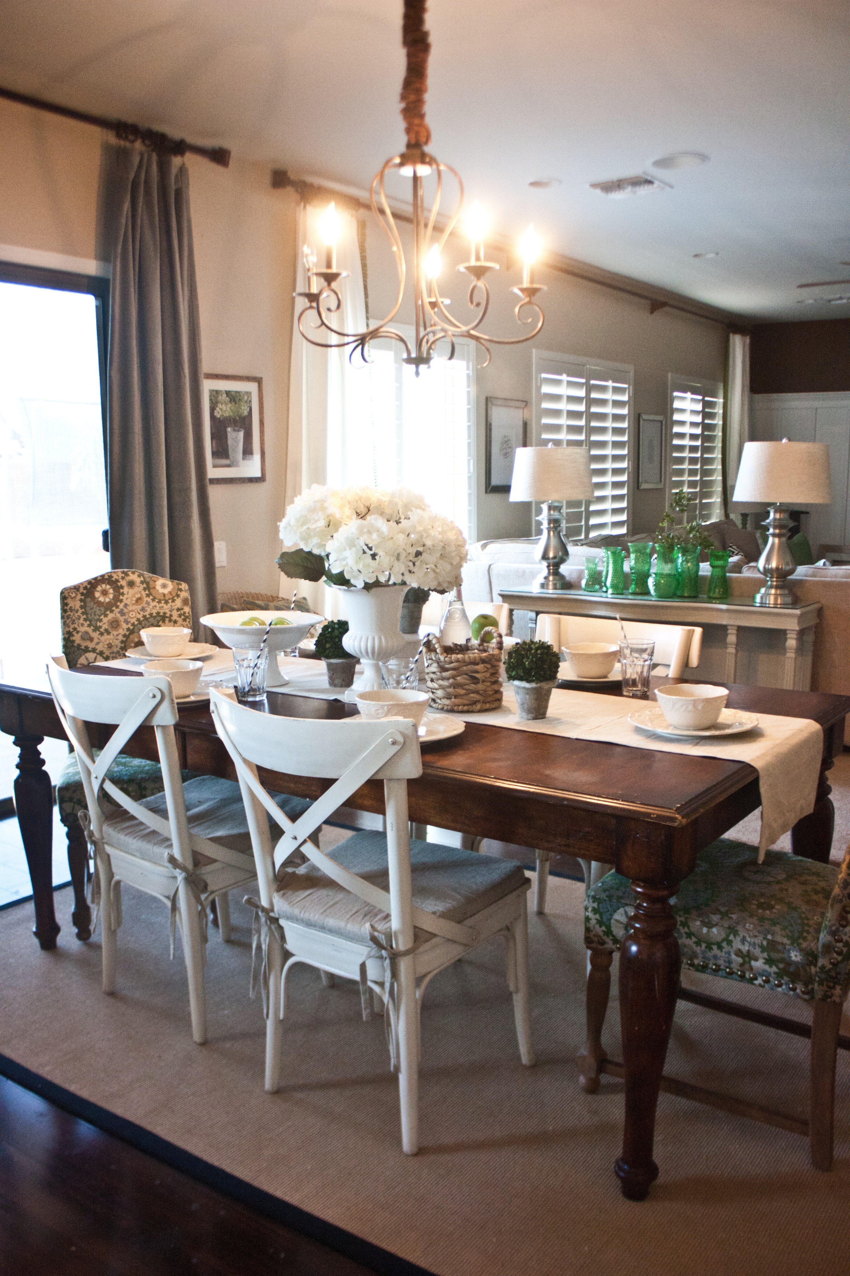 Mixing Dining Room Chairs French Inspired Breakfast Nook Just Destiny