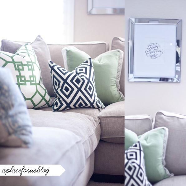 Sofa Pillow Ideas