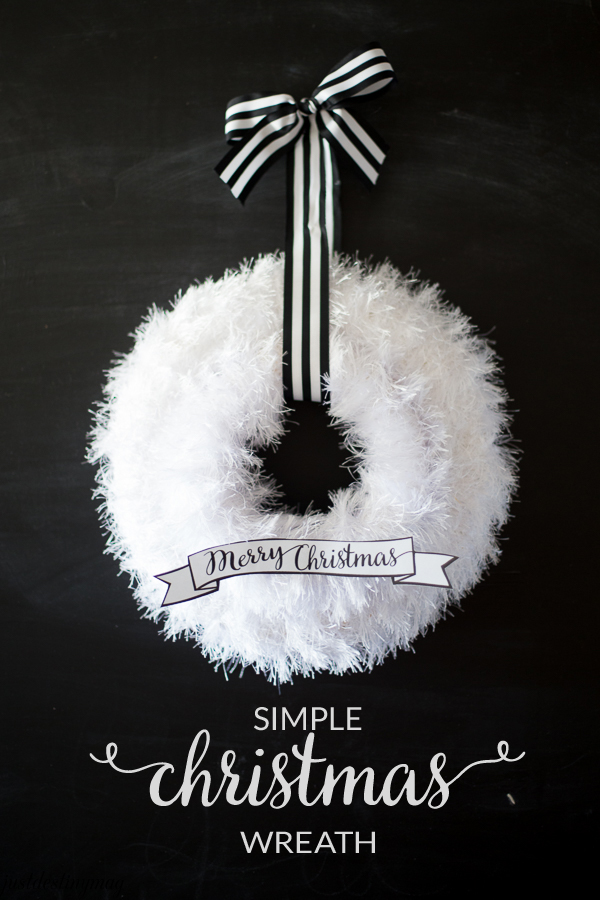 Easy Christmas Wreath