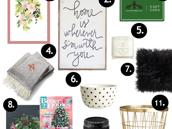Holiday Gift Guide for Decorators and BIG GIVEAWAY