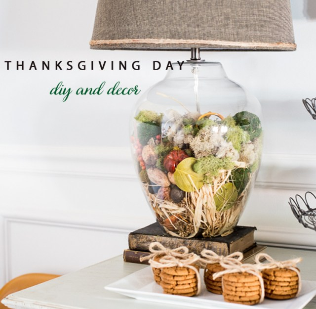 Thanksgiving Day Decor Ideas