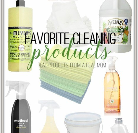 My Favorite Cleaning Products