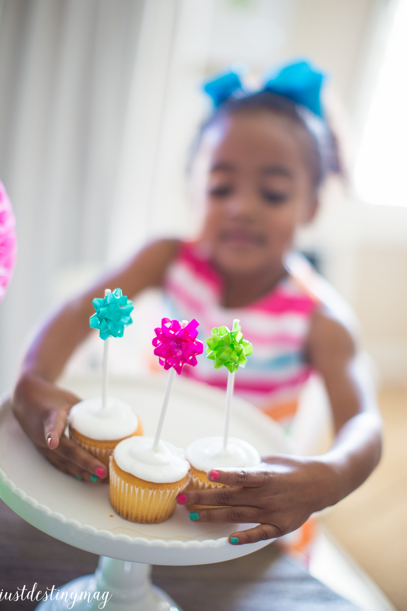 Alfabet Occasion Celebrate! Colorful Summer Birthday Party Ideas | Just Destiny