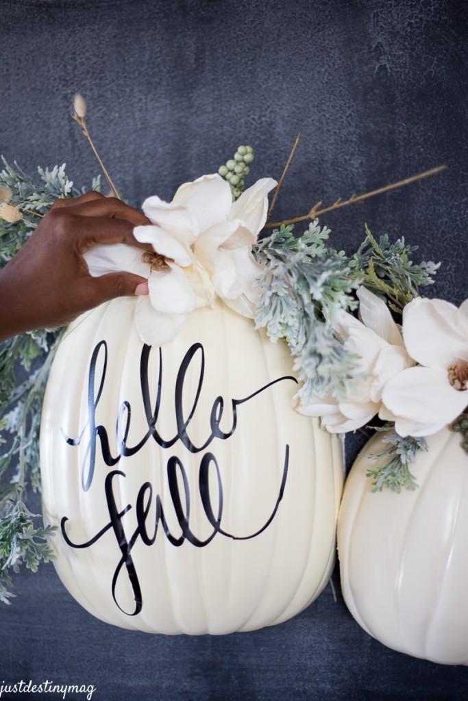 Fall Succulent Wallpaper Pumpkin Decorating Ideas