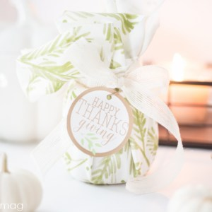 Simple Thanksgiving Hostess Gifts