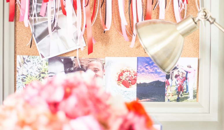 DIY Ribbon Banner