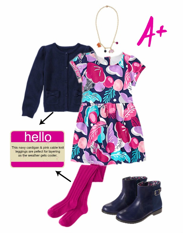 Gymboree Back to School Outfit