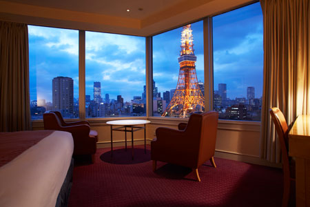 The Prince Park Tower Tokyo - Room with a view