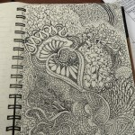 Bringing Metal and Zentangles together