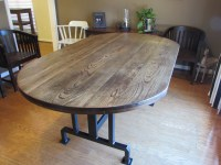 Custom Handmade RUSTIC OBLONG DINING TABLE | Just Fine Tables