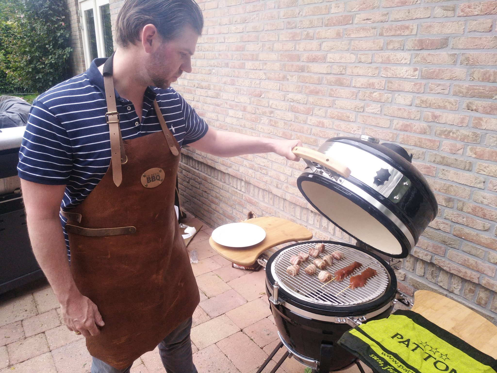 Goede Bbq Kopen Review Patton Kamado Grill Meat Pizza 21inch Just For Koks Nl