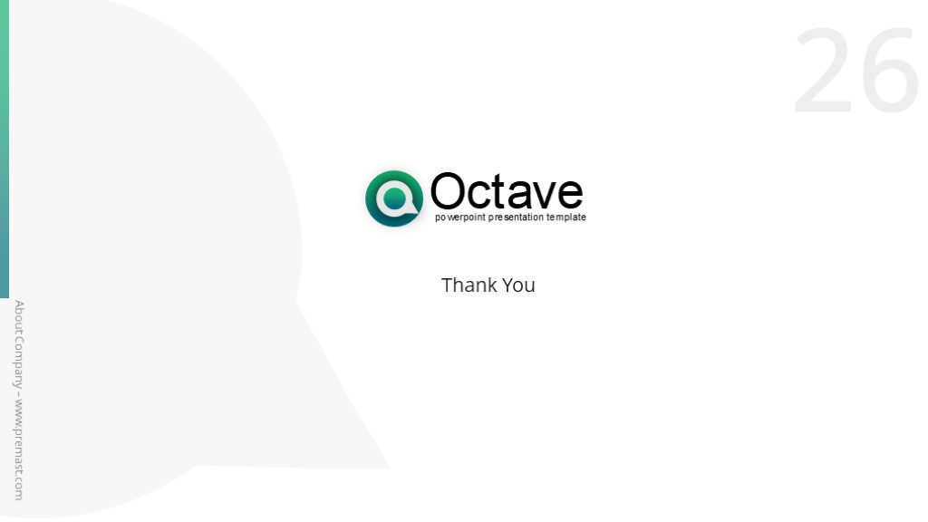 Octave Free PowerPoint Presentation Template - Powerpoint Templates