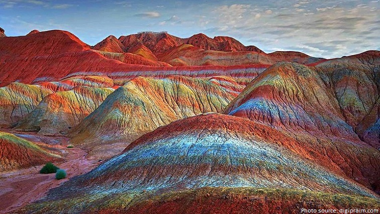 Interesting facts about Zhangye Danxia Landform Just Fun Facts - land form