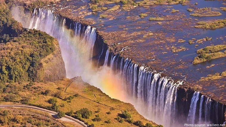 Wallpaper Falling Water Interesting Facts About Victoria Falls Just Fun Facts