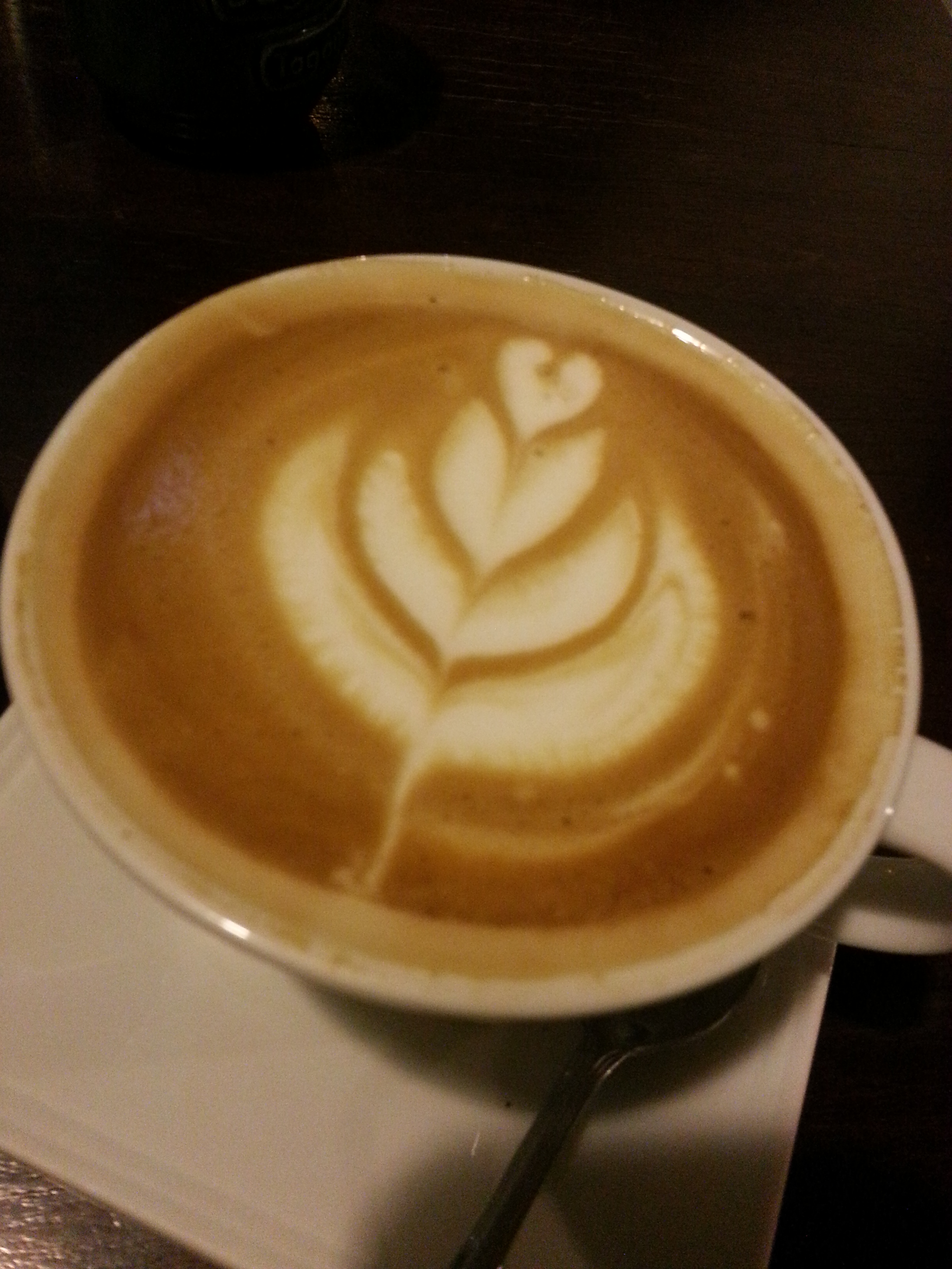 Coffee Latte Art Jogja On My 25th Dinner At Bag Of Beans Just Go Ge