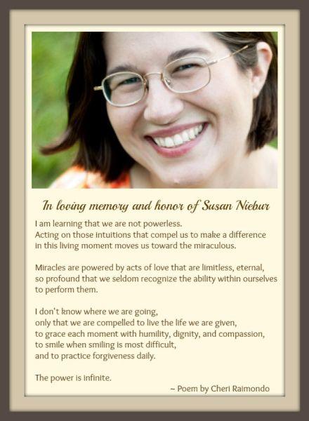 In Honor of Susan