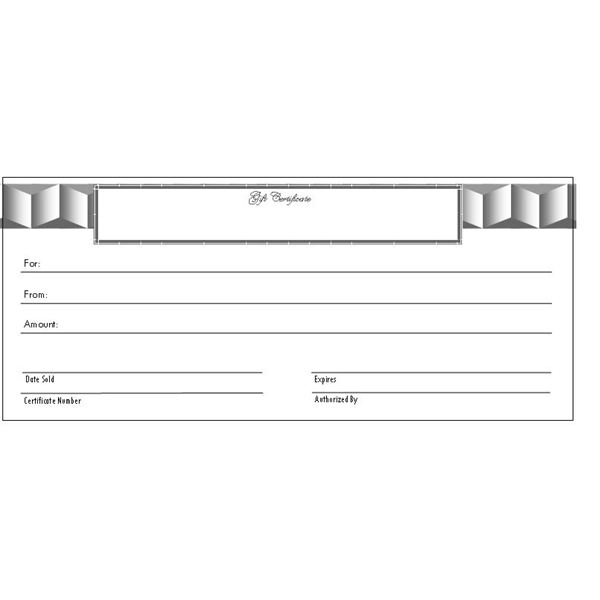 birthday gift certificate template word - gift certificate template free word