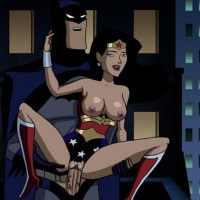 When there are no crimes in the city Wonder woman killing her free time on Batman's cock...