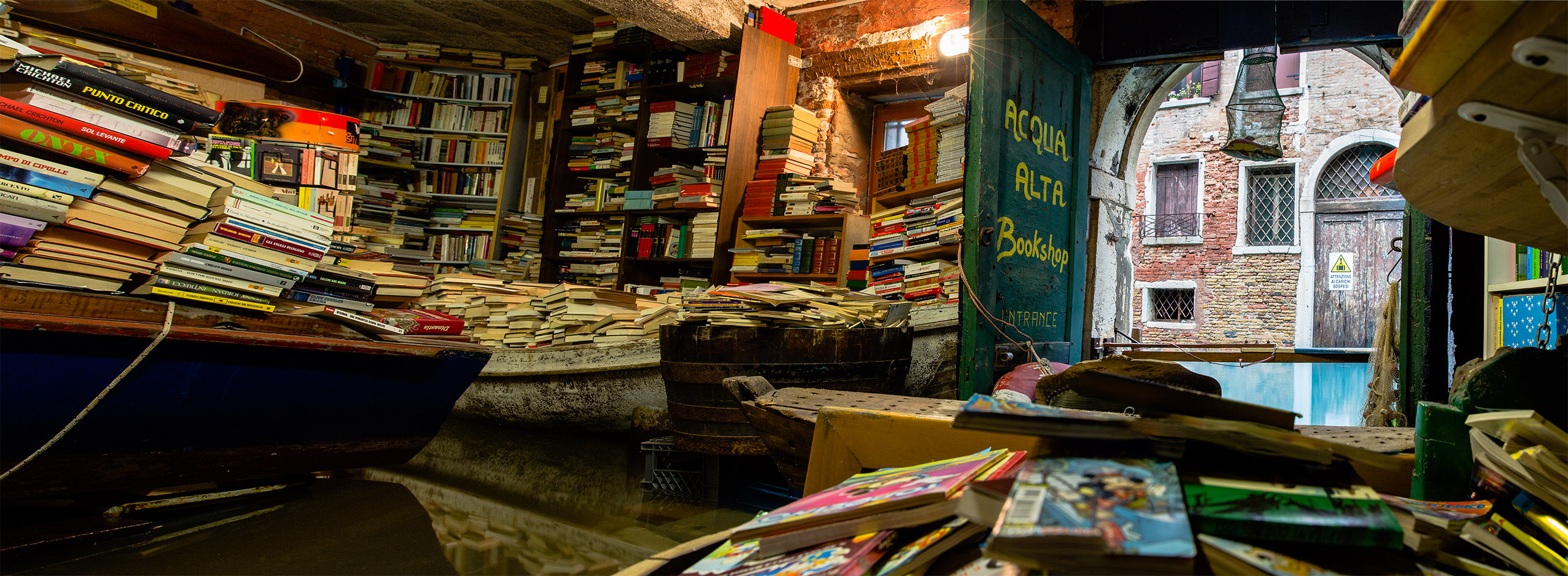 Altair Libreria The Flooded Bookshop Lost In The Midlands