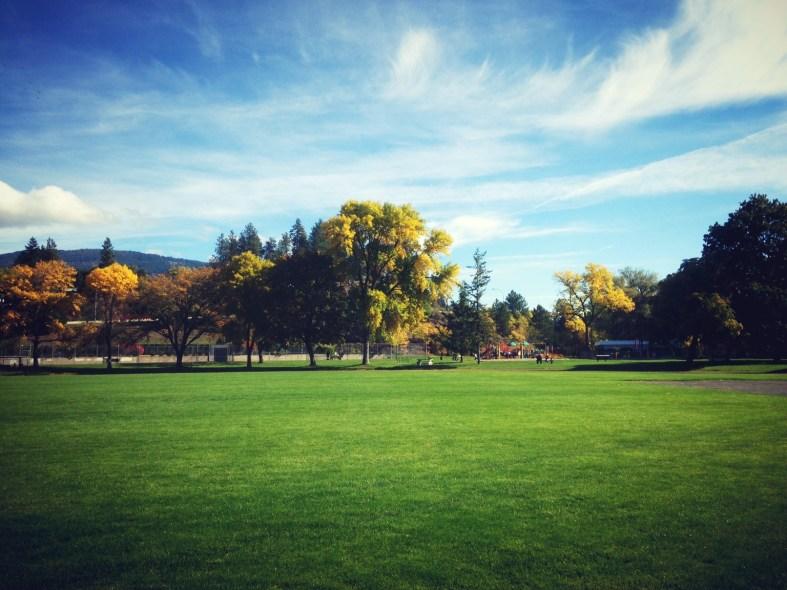 Justin Jackson's photo of Vernon, BC in the autumn