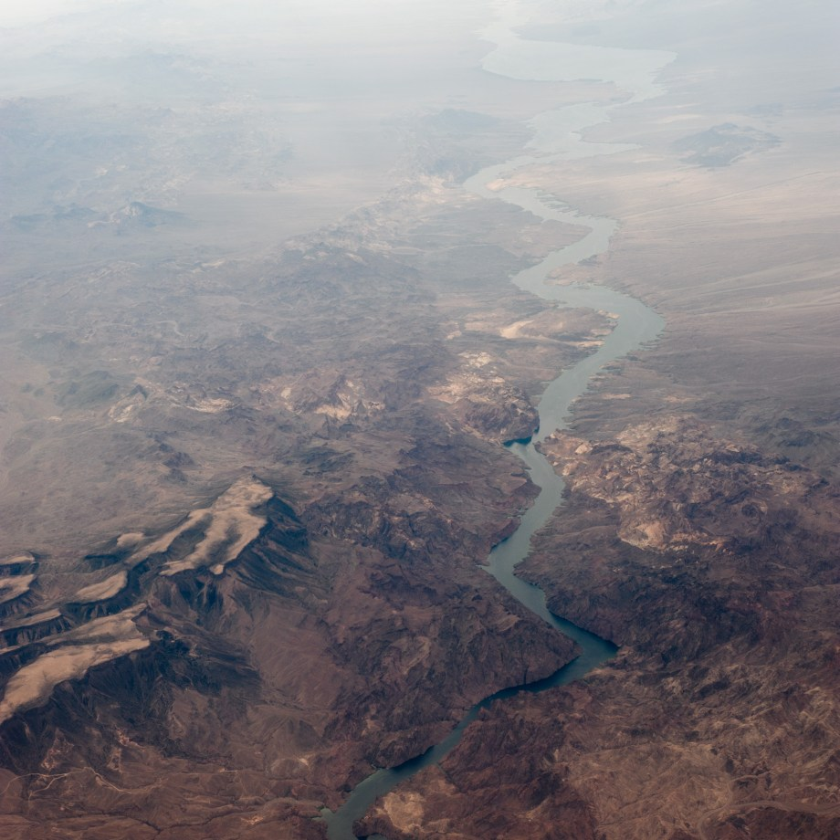 Nevada Mountain Range and River