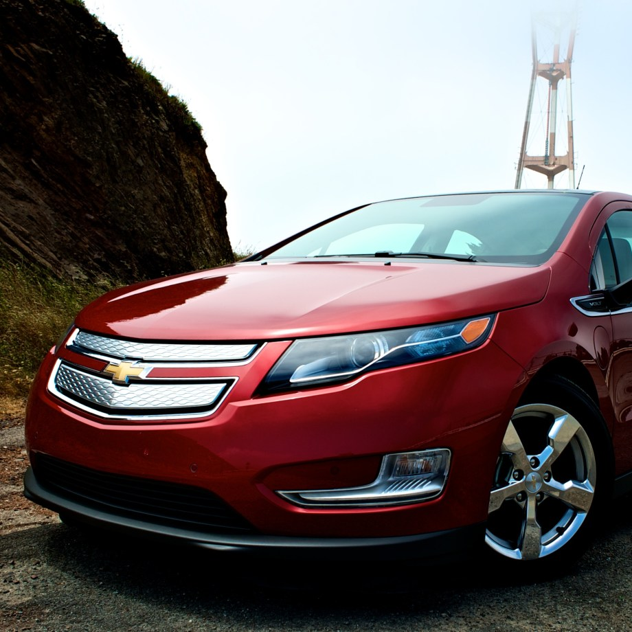 2012 Chevy Volt in San Francisco Twin Peaks