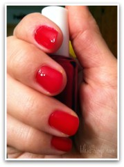 nail polish, red nails, lilkidthings, andrea updyke