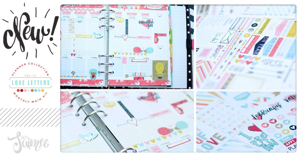 New! Planner Collection Monthly – Love Letters