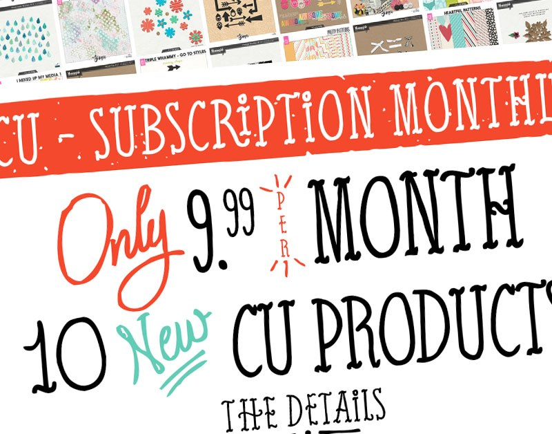 CU Subscription Monthly