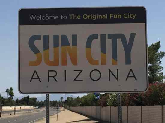Welcome to Sun City Arizona 55 Plus retirement community