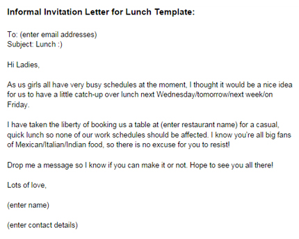 informal dinner invitation email sample - Romeolandinez - sample email invitation