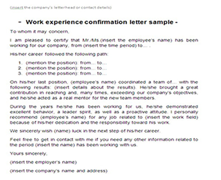 Letter of reference work placement resume pdf download letter of reference work placement sample reference letter job interviews sample letter for work experience placement spiritdancerdesigns Gallery