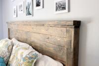 Distressed Wood Headboard (Standard King Size) | Just Like ...
