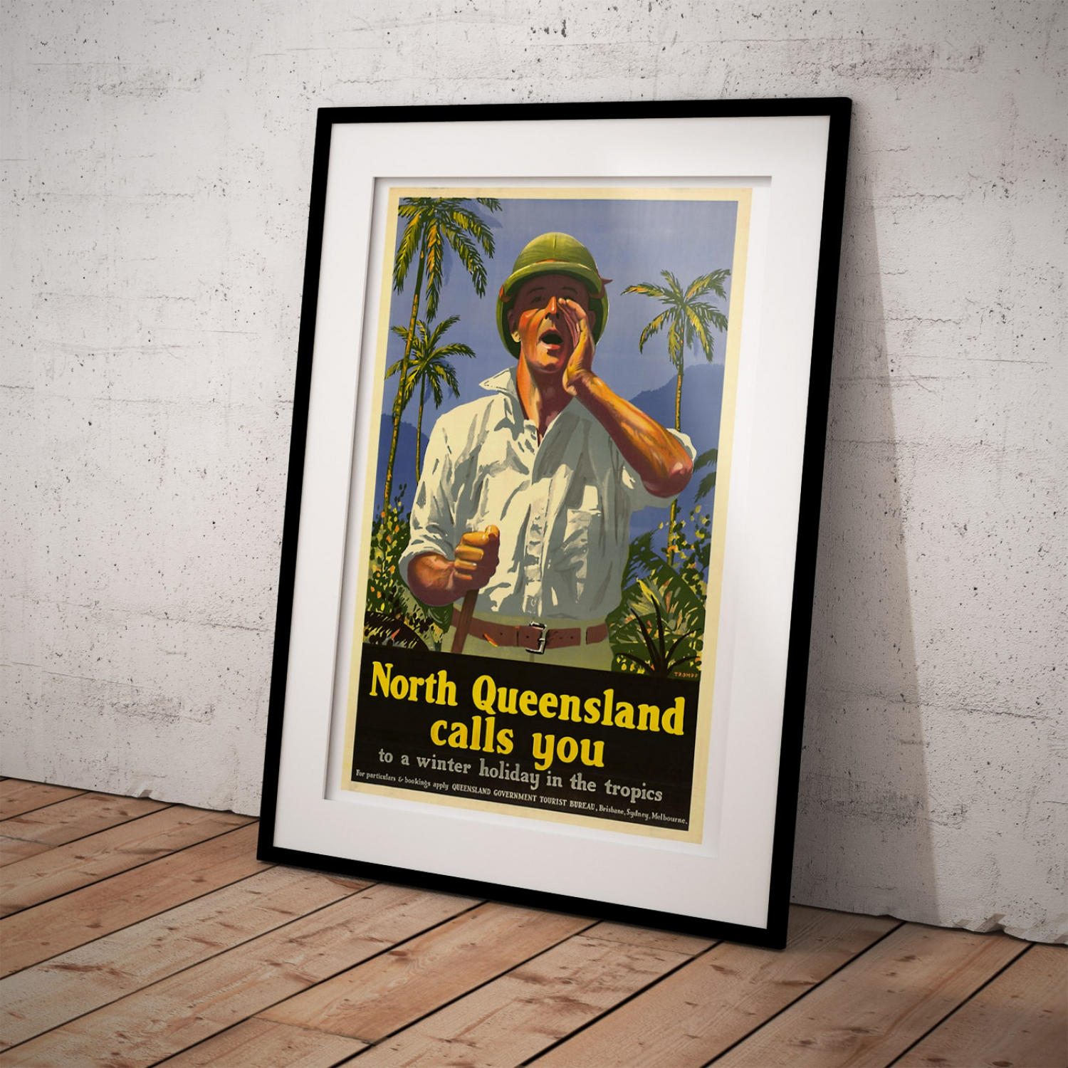 North Queensland Holiday Packages North Queensland Calls You Vintage Travel Poster Just Posters