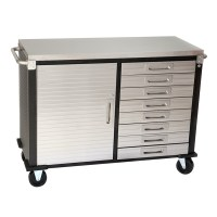 48 inch 8 Drawer Stainless Steel Top Roll Cabinet from ...
