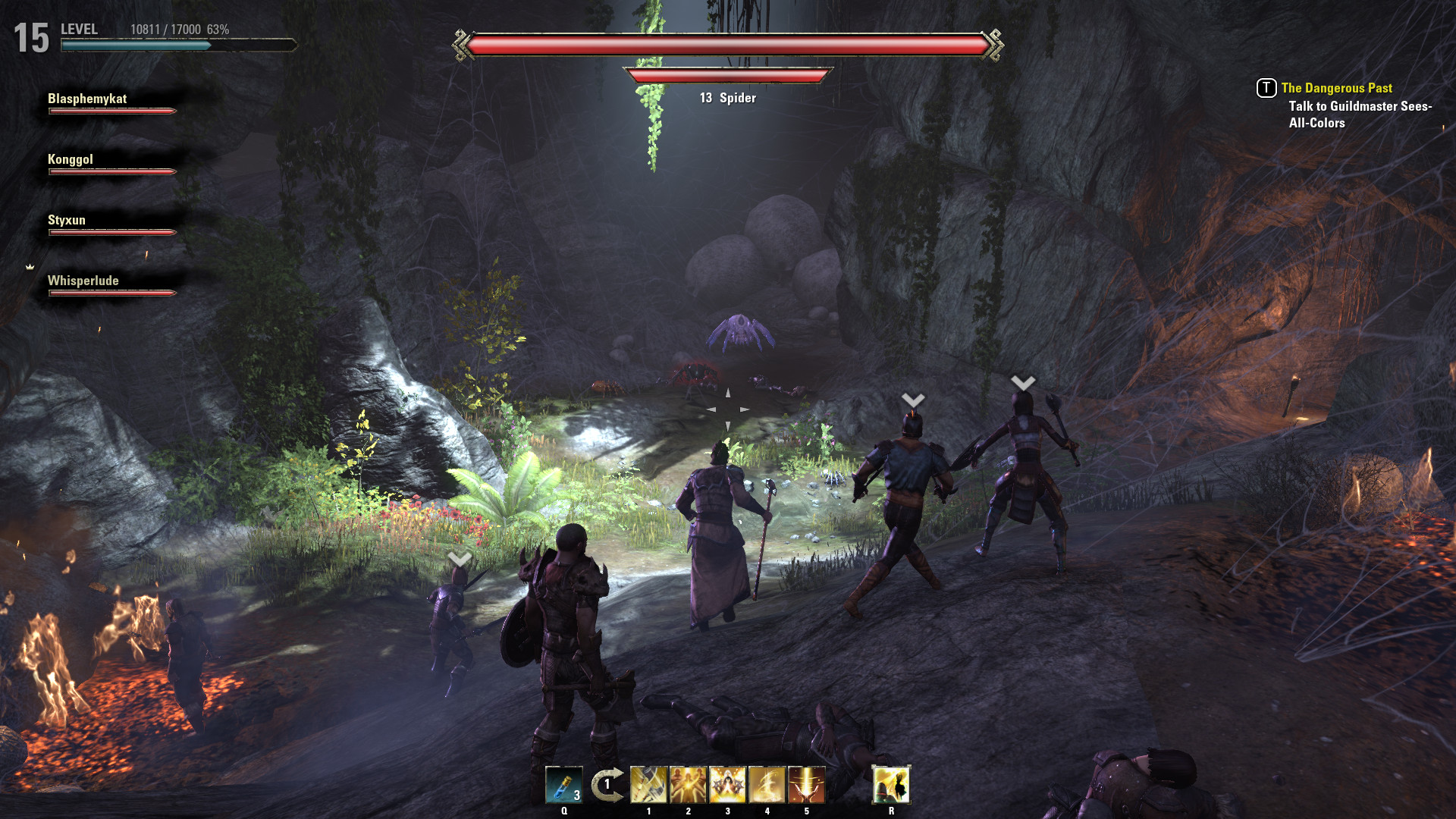 The Elder Scrolls Online The Elder Scrolls Online Guide Spindleclutch Dungeon Overview