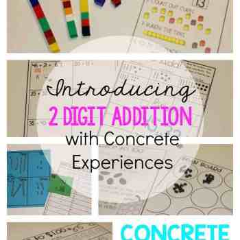 Hands-on Math: Teaching Two Digit Addition