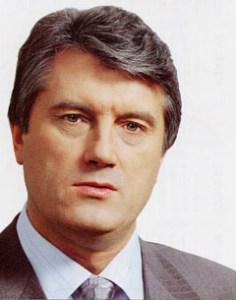 President of Ukrain Victor yushchenko