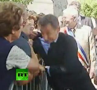 French President Sarkozy Attacked