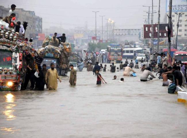 Karachi situation after rain