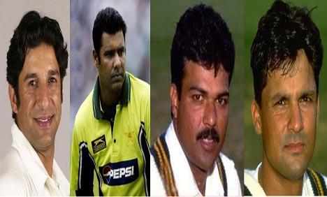 Pakistani Cricketers Spot Fixing Scandal