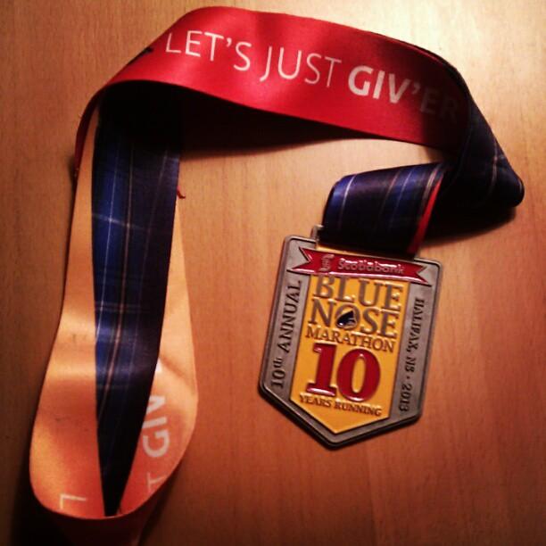 Medal. Aww yeah.