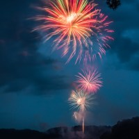 Lake Acworth Fireworks