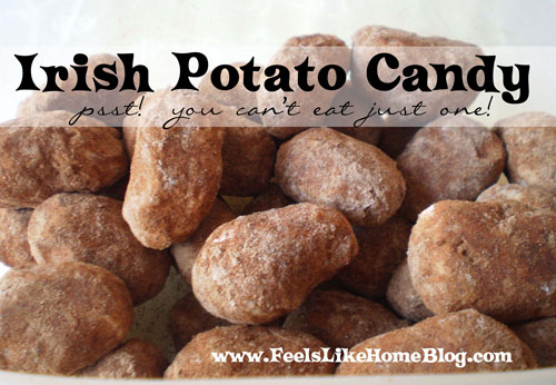 Paleo Irish Potato Candy