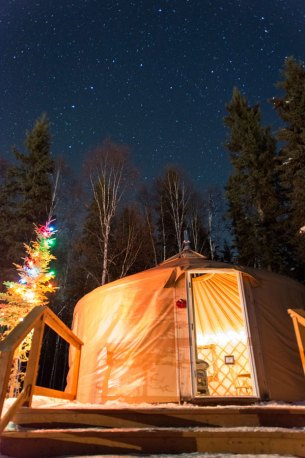 Yurt Stay Bed and Breakfast Fairbanks