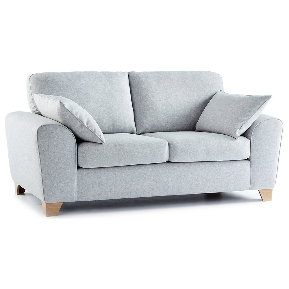 Chesterfield Sofas Lincoln Robyn Fabric 2 Seater Sofa In Light Grey | Just Sit On It
