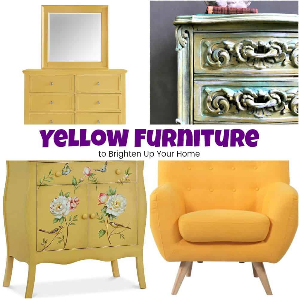 Gelbe Möbel Gorgeous Yellow Furniture To Brighten Up Your Home