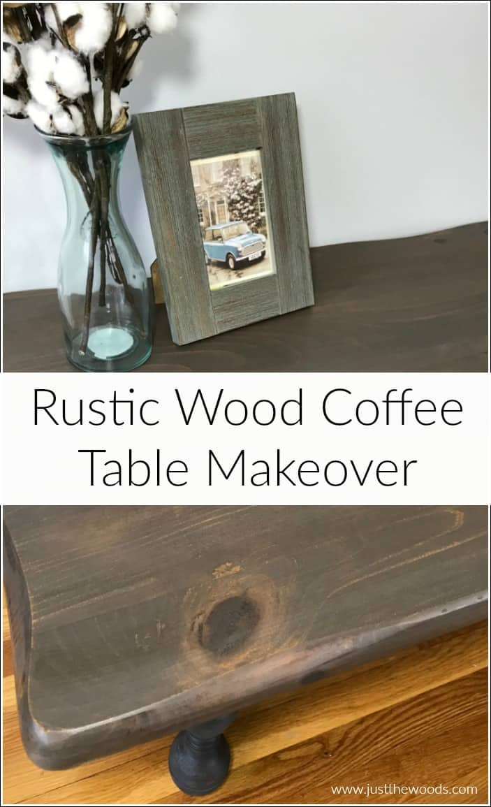 Beautiful Coffee Table How To Refinish A Rustic Wood Coffee Table With Beautiful Results